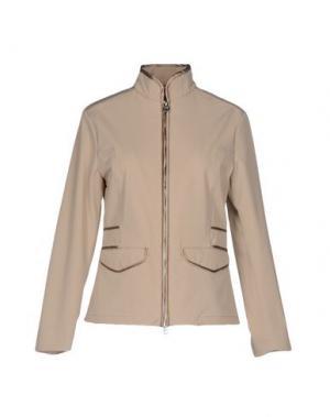 Куртка HETREGO'. Цвет: бежевый