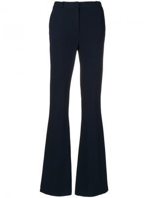 Расклешенные брюки Capucci. Цвет: синий