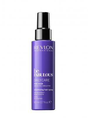 Спрей, поддерживающий объем, для ежедневного ухода за тонкими волосами RP BE FABULOUS 80 мл Revlon Professional. Цвет: индиго