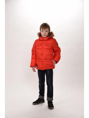 Куртка для мальчиков TOPKLAER. Цвет: красный