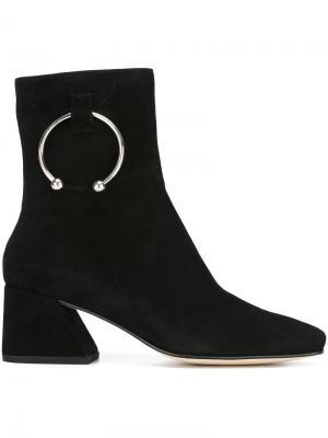 Ботинки Nizip Dorateymur. Цвет: чёрный