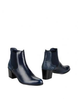 Полусапоги и высокие ботинки GEORGE J. LOVE. Цвет: темно-синий
