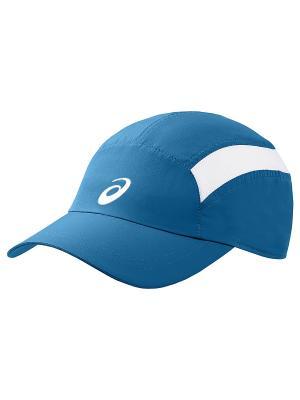 Бейсболка ASICS. Цвет: синий