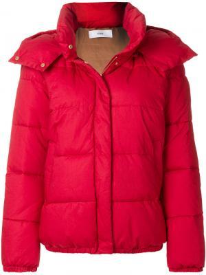 Padded jacket Closed. Цвет: красный