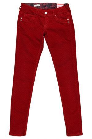 Джинсы зауженные Pepe Jeans. Цвет: розовый