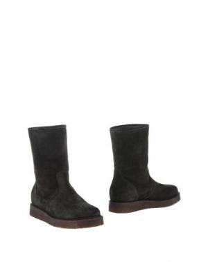 Полусапоги и высокие ботинки DEIMILLE. Цвет: темно-зеленый