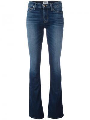 Расклешенные джинсы скинни Hudson. Цвет: синий