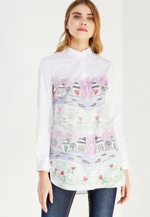 Рубашка Zarina. Цвет: белый