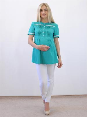 Блузка Адель. Цвет: зеленый
