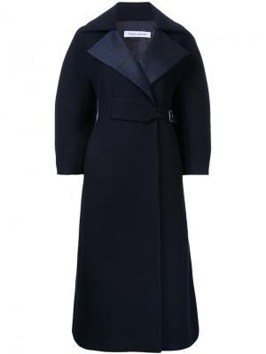 Пальто Smock Bianca Spender. Цвет: синий