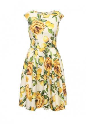 Платье Lolita Shonidi. Цвет: желтый