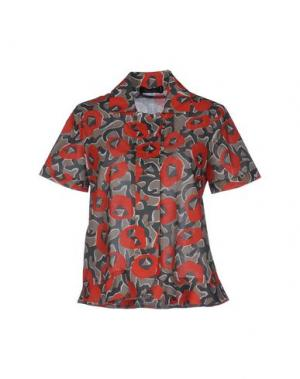 Pубашка CIVIDINI. Цвет: серый