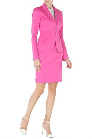 Костюм: пиджак, юбка GF FERRE. Цвет: розовый