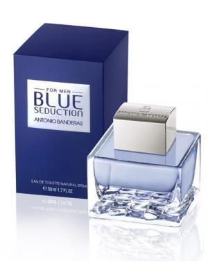 Blue Seduction men edt 50 ml ANTONIO BANDERAS. Цвет: голубой