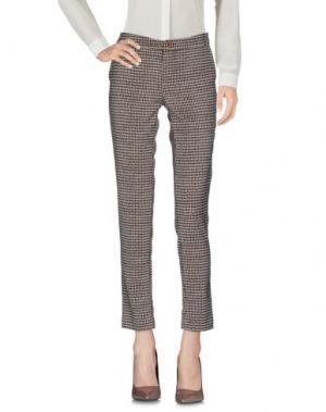 Повседневные брюки LE'S. Цвет: бежевый