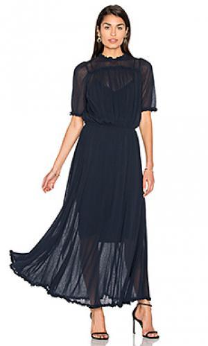 Вечернее платье the gala Great. Цвет: синий