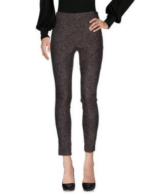 Повседневные брюки OTTOD'AME. Цвет: красно-коричневый
