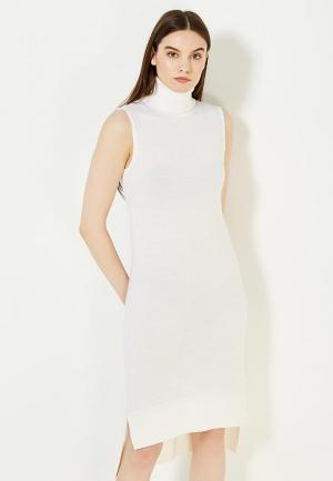 Платье Twin-Set Simona Barbieri. Цвет: белый