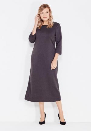 Платье Leshar. Цвет: серый