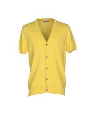 Кардиган JEORDIE'S. Цвет: желтый