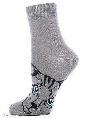 Носки женские Mark Formelle. Цвет: серый