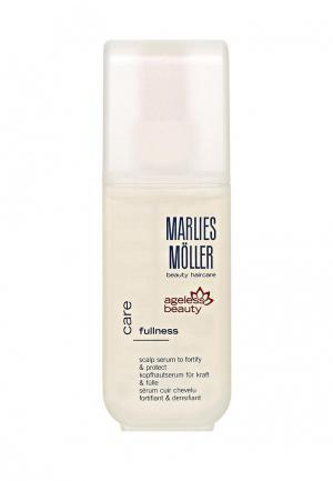 Сыворотка для волос Marlies Moller. Цвет: белый