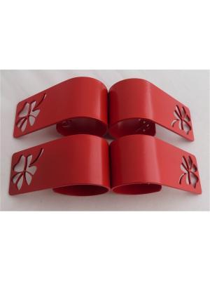 Кольца для салфеток Gala.. Цвет: красный
