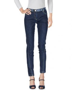 Джинсовые брюки KENZO. Цвет: синий