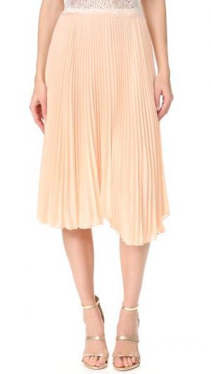 Плиссированная юбка Loyd/Ford. Цвет: мистическая роза