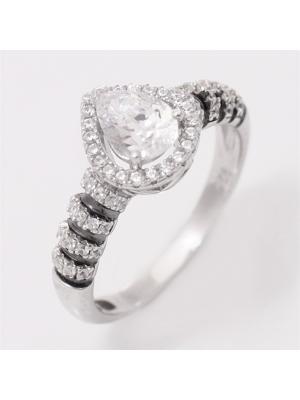 Ювелирное кольцо BALEX. Цвет: серебристый