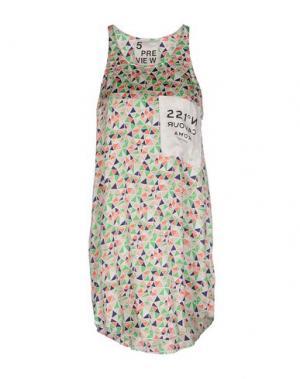 Короткое платье 5PREVIEW. Цвет: зеленый