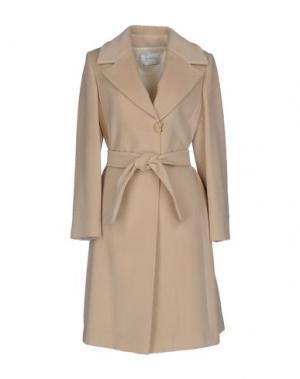 Пальто DIVINA by RGG GROUP. Цвет: бежевый