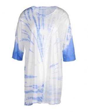 Короткое платье WHITE TENT. Цвет: белый
