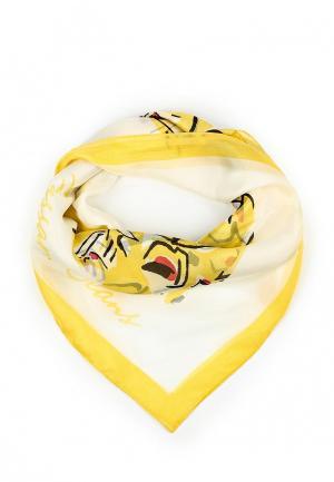 Платок Trussardi Jeans. Цвет: желтый