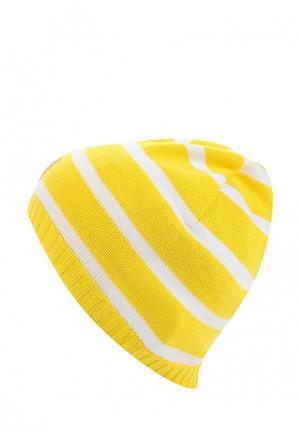 Шапка Reima. Цвет: желтый