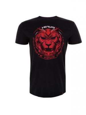 Футболка Venum Bloody Roar Black/Red. Цвет: черный, красный