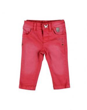 Повседневные брюки IKKS. Цвет: фуксия