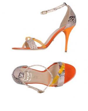 Сандалии DEL GATTO. Цвет: оранжевый