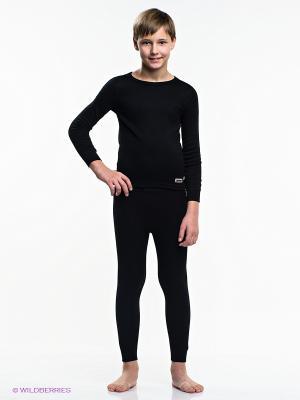 Термобелье-брюки Guahoo. Цвет: черный
