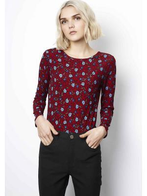 Блузка-боди Compania Fantastica. Цвет: темно-красный