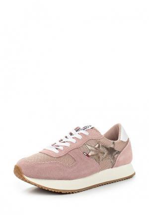 Кроссовки Tommy Jeans. Цвет: розовый