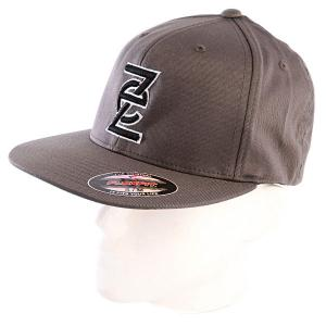 Бейсболка  Downlow Hat Dark Grey Ezekiel. Цвет: серый