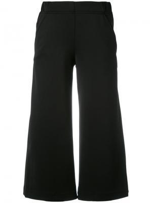 Укороченные брюки Diane Rossignol. Цвет: чёрный