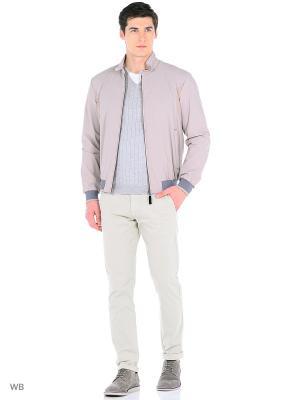 Куртка GEOX. Цвет: бежевый, серый