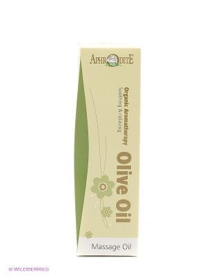 Масло для массажа (успокаивающее) Aphrodite, 100 мл Aphrodite. Цвет: светло-зеленый
