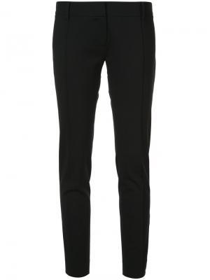 Облегающие брюки строгого кроя Nili Lotan. Цвет: чёрный