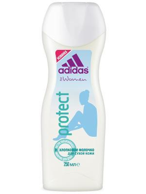 Гель для душа Adidas Shower Gel Female 250 мл protect. Цвет: прозрачный