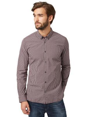 Рубашка TOM TAILOR. Цвет: фиолетовый