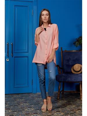 Блузка Nothing but Love. Цвет: розовый
