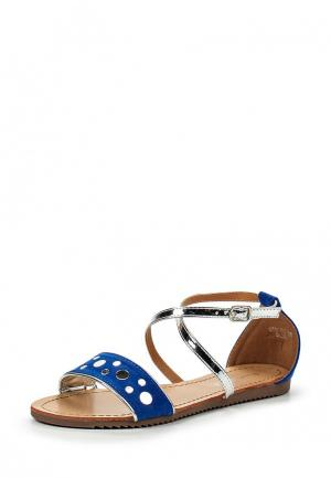 Сандалии Sweet Shoes. Цвет: синий